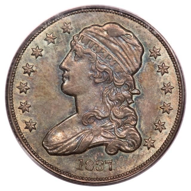 1837 25C B3 R4 Capped Bust Quarter PCGS MS62