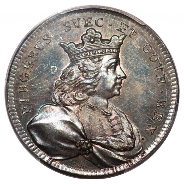 C. 1728-45 Sweden Birger Magusson Sweden PCGS MS65 Medal