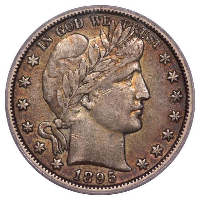 1895-O 50C Barber Half Dollar PCGS XF45