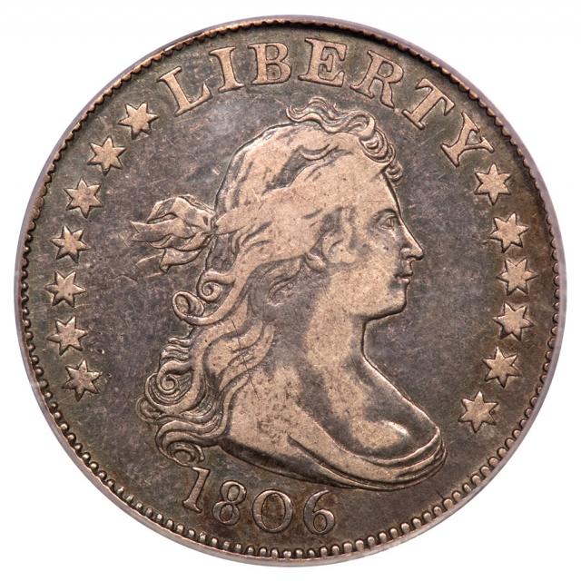 1806 25C Draped Bust Quarter PCGS VF20 B5