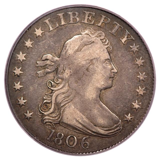 1806 25C Draped Bust Quarter PCGS VF30 B4