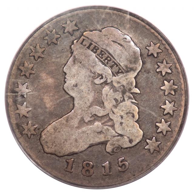 1815 25C Capped Bust Quarter PCGS VG8 B1