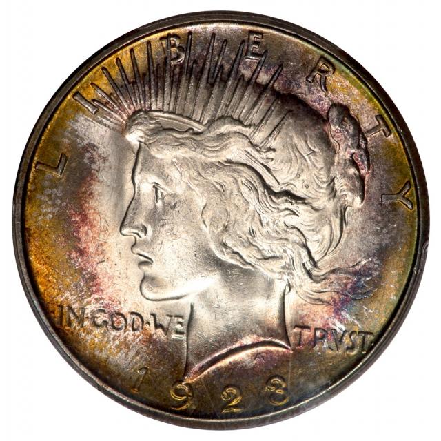 1923-S $1 Peace Dollar PCGS MS63