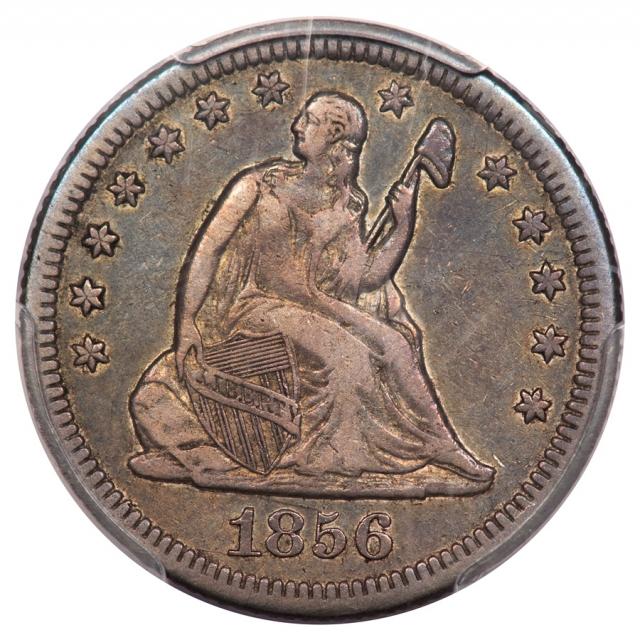 1856-O 25C Liberty Seated Quarter PCGS VF35